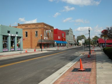 State Route 32 Streetscape